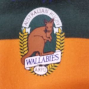 Canterbury Sweaters - Canterbury of New Zealand Wallabies Rugby Shirt